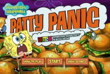 Spongebob Patty Panic spielen